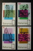 BAHAMAS 1968 - DEPORTES - GOLF - VELA - HIPICA - SKI ACUATICO - YVERT Nº 261-264** - MICHEL277-280 - SCOTT 272-275 - Ski Nautique
