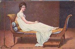 Peinture   289        David. Madame Récamier ( Pub Chicorée Boulangère ) - Pintura & Cuadros