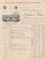 Vivier Au Court (Ardennes) - Camion Frères - Manufacture Ferronnerie Et Quincaillerie - 1887 - 1800 – 1899
