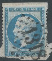 Lot N°42228  N°22/Fragment, Oblit GC 1318 Domfront, Orne (59), Ind 3 - 1862 Napoleon III