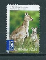 2009 Australia $2.10 Kangaroo,self-adhesive Used/gebruikt/oblitere - Gebruikt