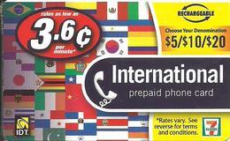 IDT: 7 Eleven - International - Vereinigte Staaten