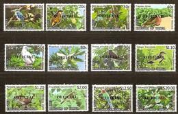 Tonga 2014 Yvertn° Service Official 94-105 *** MNH Cote 80 Euro Faune Oiseaux Vogels Birds - Tonga (1970-...)