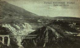 ASIAGO Ferrovia Rocchette Ponte Sull' Astico     Italie ITALIA ITALIAN ITALY - Andere Städte