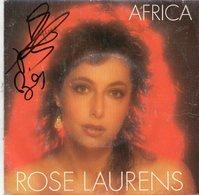 45T Signé Rose LAURENS - Autographes