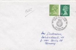 British Cover Postmarked Battle Of The Santes HMS Barfleur 1978 (G91-40) - Militaria