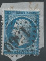Lot N°42233  N°22/Fragment, Oblit GC 1560 Fougères, Ille-et-Vilaine (34), Ind 3 - 1862 Napoléon III