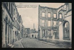DENDERMONDE  OORLOG 1914 - 1918  ==  RIDDERSTRAAT - Diksmuide