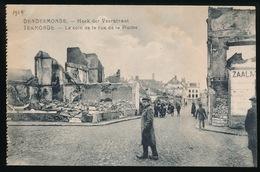 DENDERMONDE  OORLOG 1914 - 1918  ==  HOEK DER VEERSTRAAT - Diksmuide