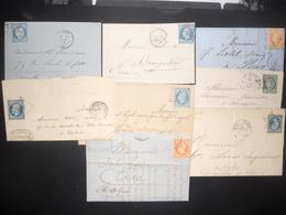 France Napoleon , Ceres Lot De 17 Lettres - France