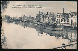 DENDERMONDE  OORLOG 1914 - 1918  ==  PAPIERMOLENSTRAAT - Diksmuide