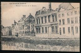 DENDERMONDE  OORLOG 1914 - 1918  ==  BANQUE CENTRALEDE LA DENDRE - Diksmuide
