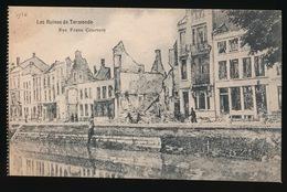 DENDERMONDE  OORLOG 1914 - 1918  ==  RUE FRANS COURTENS - Diksmuide