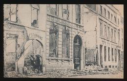 DENDERMONDE  OORLOG 1914 - 1918  ==  RUE DE L'EGLISE - Diksmuide