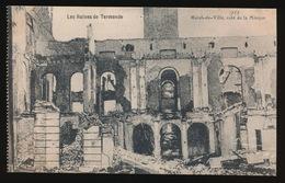 DENDERMONDE  OORLOG 1914 - 1918  ==  HOTEL DE VILLE COTE DE LA MINQUE - Diksmuide