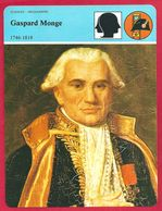 Gaspard Monge, L'inventeur Des Mathématiques Modernes, Révolution Française, Napoléon, Campagne D'Egypte... - Geschiedenis