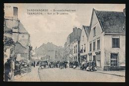 DENDERMONDE  OORLOG 1914 - 1918  ==  BRUSSELSCHESTRAAT - Diksmuide