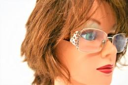 Glasses :  Vintage Glasses Gianni Versace 53016 130- Original - Used Condition - Jewels & Clocks