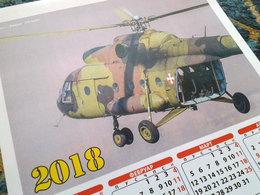 2018 Wall Calendar Serbian Air Force / Limited Edition 45 X 31 Cm - Aviation