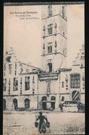 DENDERMONDE  OORLOG 1914 - 1918  ==  HOTEL DE VILLE COTE GRAND'PLACE - Diksmuide