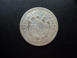 GUATEMALA : 25 CENTAVOS  1959   KM 258   B+ * / TTB - Guatemala