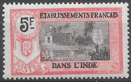 Inde 1922 - N° YT  55, Neuf ** , Gomme à Peine Tachée - Inde (1892-1954)