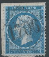 Lot N°42249  N°22/Fragment, Oblit GC 1706 Granville, Manche (48), Ind 2 - 1862 Napoleon III