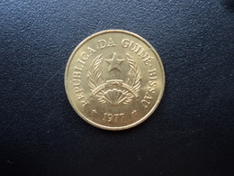 GUINÉE BUISSAU : 1 PESO   1977   KM 18   Non Circulé - Guinea-Bissau