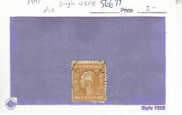 56677 ) USA   1911  Postmark Cancel - Etats-Unis