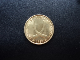 GUINÉE ÉQUATORIALE : 1 PESETA  1969 (69)   KM 1   Non Circulé - Equatorial Guinea
