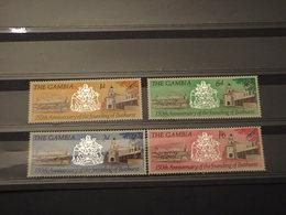 GAMBIA - 1966 BATHURST(chiese) 4 Valori - NUOVI(++) - Gambia (1965-...)