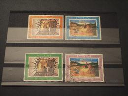 MONTSERRAT - 1972 PASQUA  4 Valori - TIMBRATI/USED - Montserrat