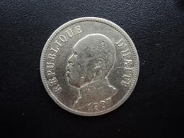HAÏTI : 50 CENTIMES  1907  KM 56   TB+ / TTB - Haiti