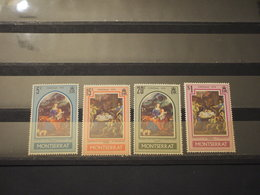 MONTSERRAT - 1970 NATALE  QUADRI 4 Valori - NUOVI(++) - Montserrat