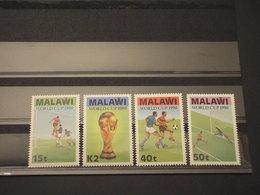 MALAWI - 1990 CALCIO 4 Valori - NUOVI(++) - Malawi (1964-...)