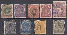 INDIE OLANDESI - NEDERL INDIE -  1903/1908 - Lotto Di 9 Valori Obliterati: Yvert 48, 49, 51, 53, 54, 55, 56, 57 E 58 - Netherlands Indies