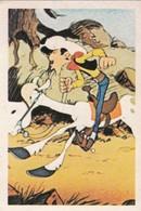 LUCKY LUKE  Vignette N° 124 - DARGAUD EDITEUR 1972 - Andere Sammlungen