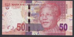 2013 - 50 Rand -  FIFTY RAND -  Signature: Gill Marcus - UNC - Sudafrica