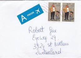 Brief In Die Schweiz (br35754) - Belgium