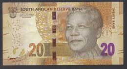 2015 - 20 Rand - TWENTY RAND -  Signature: Lesetja Kganyago - UNC - South Africa