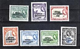 "Guyana   -   1966. Serie Sovr. "" Indipendence 1966 ""  Complete  MNH  Fresh Set - Guiana (1966-...)"