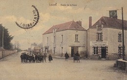44 - LOIRE ATLANTIQUE - LIGNE - Route De La Gare - Ligné