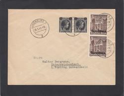 BRIEF MIT NR 17 UND NR 33 (PAARE) NACH UNTERREICHENBACH. - 1940-1944 Occupation Allemande