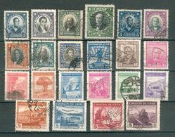 CHILI ; 1928-1940 ; Y&T N° ; Lot : 7 ; Oblitéré - Chili