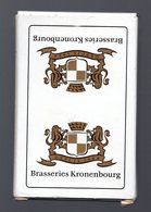 Jeu De 54 Cartes   Brasseries Kronenbourg Carta Mundi Bridge - Barajas De Naipe