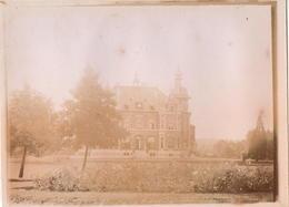 Photo Originale De 09/1897 Du Château Des Cailloux Près De Jodoigne . - Jodoigne