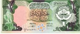 Kuwait P.15c 10 Dinars 1990  Unc - Kuwait