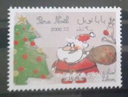 Lebanon 2012 MNH - SANTA CLAUS, Christmas, Christmas Tree, Children Paintings - Lebanon