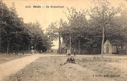 Heide - De Kruisstraat (animatie, F. Hoelen, Timbre Taxe 1922) - Kapellen