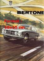 Reproduction D'une Photographie D'une Affiche Publicitaire Alfa Romeo Bertone - Repro's